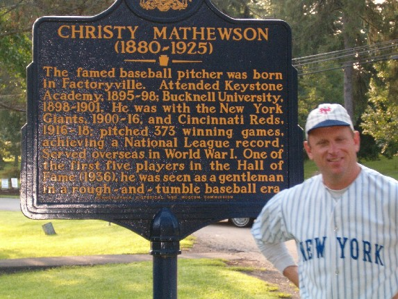 Image result for factoryville christy mathewson